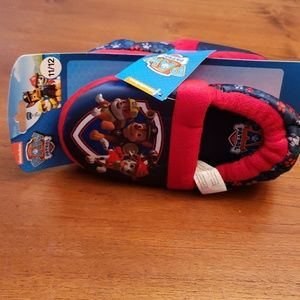 Nickelodeon Paw Patrol Slippers size 11/12